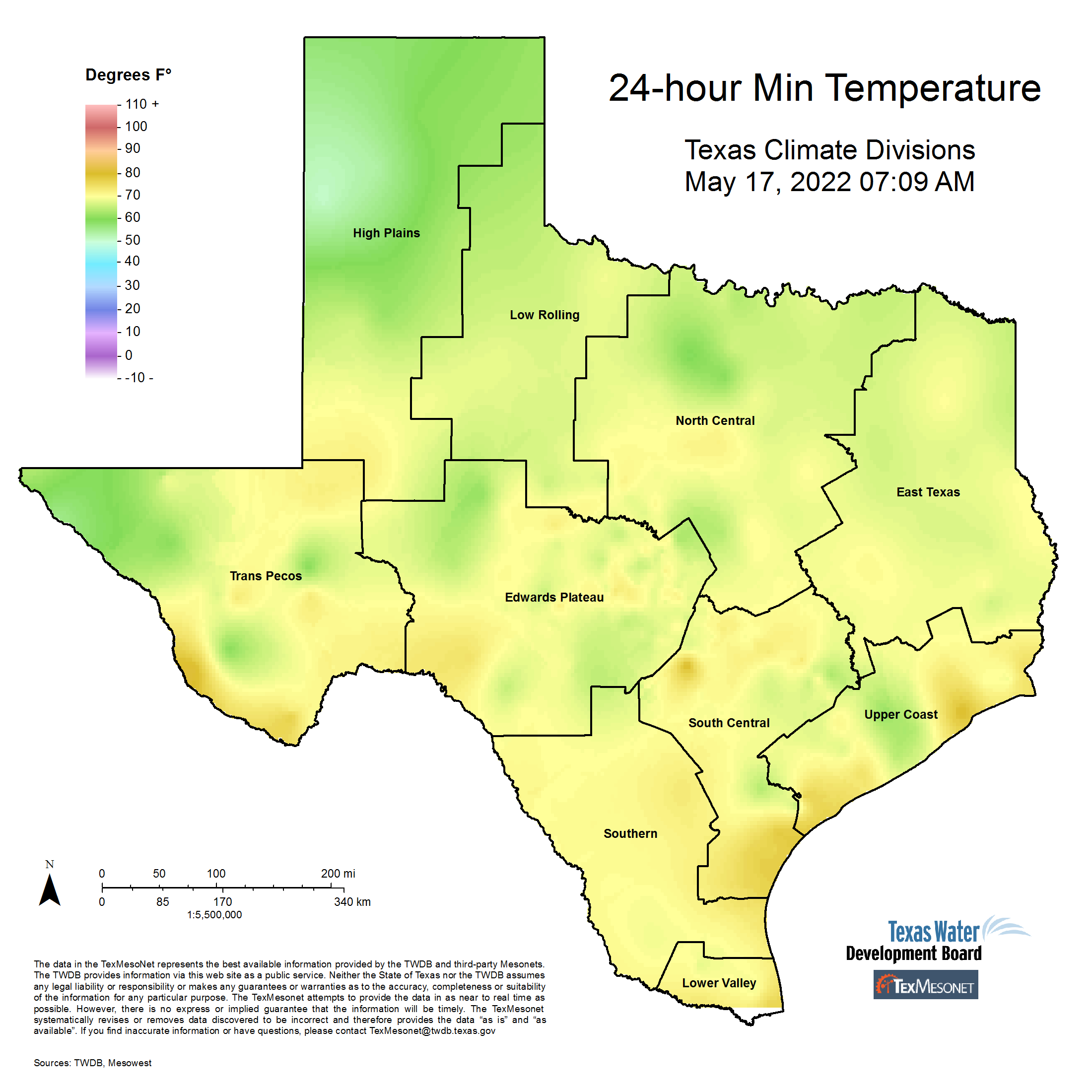 Map Of Texas 30th District.Texmesonet
